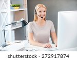 customer service representative ... | Shutterstock . vector #272917874