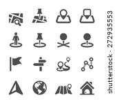 map icon set 2  vector eps10.
