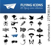 flying icons | Shutterstock .eps vector #272938154