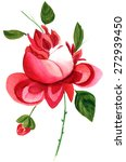 a vintage styled watercolour... | Shutterstock . vector #272939450