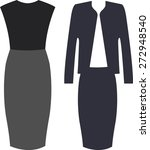 the outfits for the... | Shutterstock .eps vector #272948540