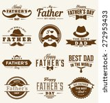 happy father's day design... | Shutterstock .eps vector #272953433