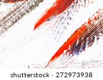 board with paint stains as... | Shutterstock . vector #272973938