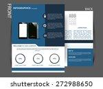 flyer  magazine cover  brochure ... | Shutterstock .eps vector #272988650