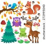 Forest Animals Theme Set 1  ...