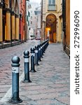 old street view bologna city ... | Shutterstock . vector #272996090