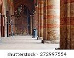 fort entrance columns. bologna  ... | Shutterstock . vector #272997554