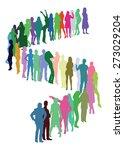 vector people   Shutterstock .eps vector #273029204