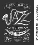 Vector Poster Jazz Festival On...