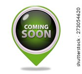 coming soon pointer icon on... | Shutterstock . vector #273054620
