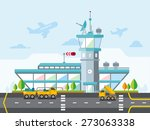 travel lifestyle concept of... | Shutterstock .eps vector #273063338