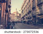 naples  italy   march 20  2015  ... | Shutterstock . vector #273072536