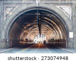 vehicles passing through the... | Shutterstock . vector #273074948