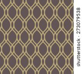 geometric pattern with golden... | Shutterstock .eps vector #273079538