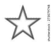 halftone star | Shutterstock . vector #273079748