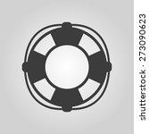 the lifebuoy icon. lifebelt... | Shutterstock .eps vector #273090623