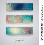 business design templates. set... | Shutterstock .eps vector #273102173