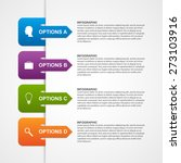 abstract infographic template....