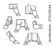 information fransfer concept... | Shutterstock .eps vector #273118166