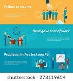 stress at work horizontal... | Shutterstock .eps vector #273119654