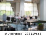 blurred office background | Shutterstock . vector #273119666