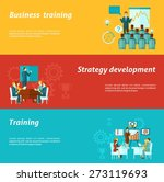 business training horizontal... | Shutterstock .eps vector #273119693
