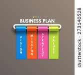 banner business infographic... | Shutterstock .eps vector #273140528