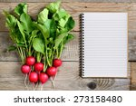 Fresh Radish And Recipe Book O...