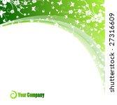 flower card | Shutterstock .eps vector #27316609