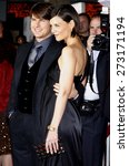 tom cruise and katie holmes... | Shutterstock . vector #273171194