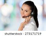 customer service representative ... | Shutterstock . vector #273171719