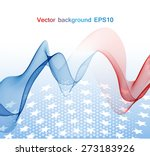 abstract image of the american... | Shutterstock .eps vector #273183926
