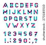 vector alphabet set fun... | Shutterstock .eps vector #273185510