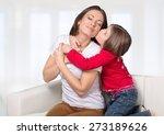 affection  affectionate  bed. | Shutterstock . vector #273189626