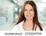 women  business  smiling. | Shutterstock . vector #273204704