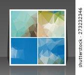 abstract vector flyer... | Shutterstock .eps vector #273232346
