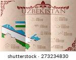 uzbekistan infographics ... | Shutterstock .eps vector #273234830