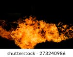 fire flame background | Shutterstock . vector #273240986