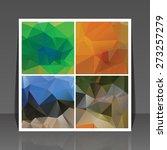 abstract vector flyer... | Shutterstock .eps vector #273257279