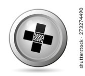 medical patch icon. internet... | Shutterstock . vector #273274490