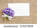 Bouquet Of Violet Flowers ...