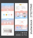 soft one page website template...