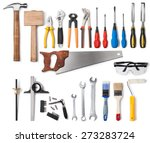 Tools Collection Isolated On...