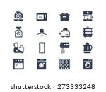 kitchen electric appliances... | Shutterstock .eps vector #273333248