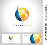 creative letter b logo design....