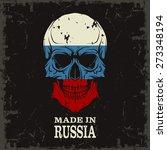 skull color of the flag | Shutterstock .eps vector #273348194