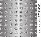 vector grey abstract mosaic... | Shutterstock .eps vector #273368840