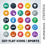 premium quality flat sport icons