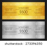 gold vip club card | Shutterstock .eps vector #273396350