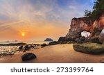 sea coast of laem chamuk khwai... | Shutterstock . vector #273399764